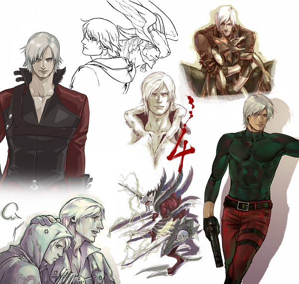 Tags: Anime, Devil May Cry, Nero (Devil May Cry), Dante