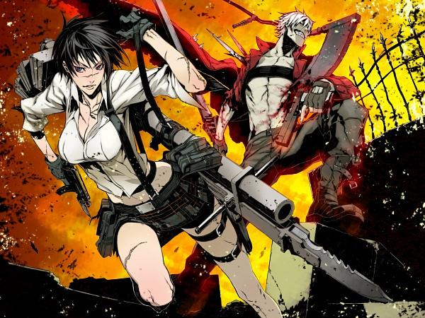Tags: Anime, Miwa Shirow, Devil May Cry, Dante, Lady (Devil May Cry)