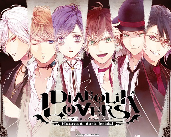 Tags: Anime, Satoi, IDEA FACTORY, Diabolik Lovers ~Haunted dark bridal~, Sakamaki Reiji, Sakamaki Laito, Sakamaki Subaru, Sakamaki Kanato, Sakamaki Shuu, Sakamaki Ayato, Wallpaper, Official Art