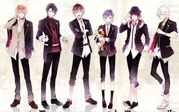 Tags: Anime, Satoi, IDEA FACTORY, Diabolik Lovers ~Haunted dark bridal~, Sakamaki Laito, Sakamaki Subaru, Sakamaki Kanato, Sakamaki Shuu, Sakamaki Ayato, Sakamaki Reiji, Pocket Watch, Official Art