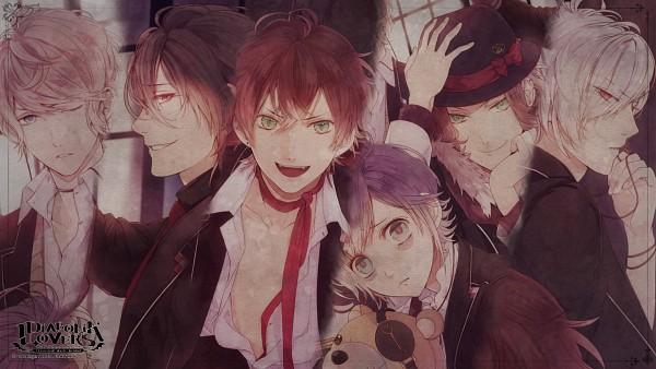Tags: Anime, Satoi, IDEA FACTORY, Rejet, Diabolik Lovers ~Haunted dark bridal~, Sakamaki Ayato, Sakamaki Reiji, Sakamaki Laito, Sakamaki Subaru, Sakamaki Kanato, Sakamaki Shuu, HD Wallpaper, Wallpaper