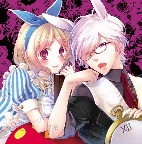 Tags: Anime, Yamika, Diabolik Lovers ~Haunted dark bridal~, Komori Yui, Sakamaki Subaru, White Rabbit (Cosplay), Pocket Watch, Fanart