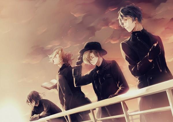 Tags: Anime, Pixiv Id 12387536, Diabolik Lovers ~Haunted dark bridal~, Mukami Yuuma, Mukami Ruki, Mukami Azusa, Mukami Kou, Fanart From Pixiv, Pixiv, Fanart