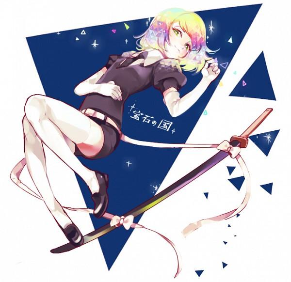 Tags: Anime, Akiru (Pixiv777682), Houseki no Kuni, Diamond (Houseki no Kuni), Pixiv, Fanart, Fanart From Pixiv