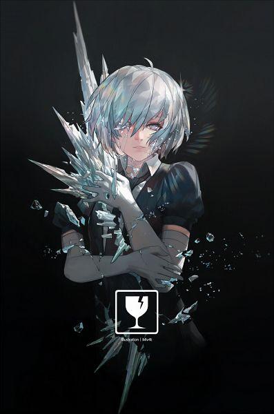 Tags: Anime, Miv4t, Houseki no Kuni, Diamond (Houseki no Kuni), Fanart From Pixiv, Pixiv, Fanart