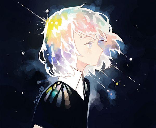 Tags: Anime, tofuvi, Houseki no Kuni, Diamond (Houseki no Kuni), Pixiv, Fanart, Fanart From Pixiv