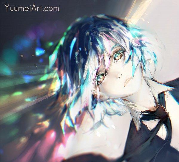 Tags: Anime, Wenqing Yan, Houseki no Kuni, Diamond (Houseki no Kuni), Fanart, Fanart From DeviantART, deviantART
