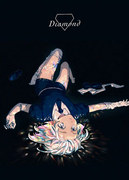 Tags: Anime, Pixiv Id 7274164, Houseki no Kuni, Diamond (Houseki no Kuni), Glowing Hair, Pixiv, Fanart, Fanart From Pixiv