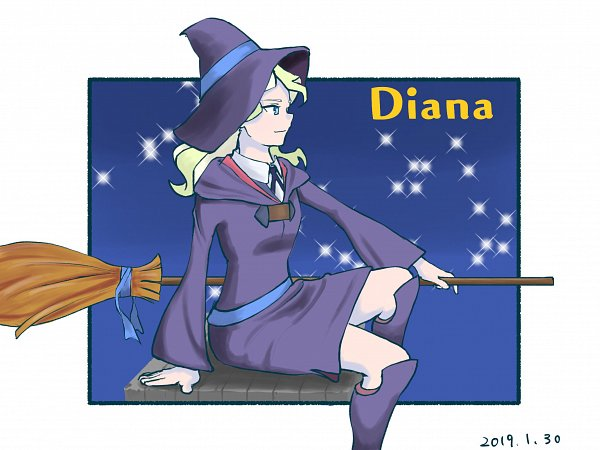 Tags: Anime, Pixiv Id 12360519, Little Witch Academia, Diana Cavendish, Fanart, Fanart From Pixiv, Pixiv