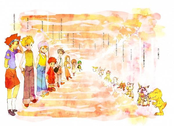 Tags: Anime, Kosaki, Digimon Adventure, Palmon, Yagami Hikari, Tentomon, Yagami Taichi, Takenouchi Sora, Takaishi Takeru, Izumi Koushirou, Ishida Yamato, Kido Jyou, Patamon