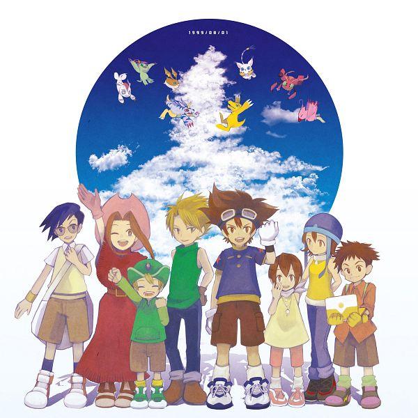 Tags: Anime, Hie, Digimon Adventure, Ishida Yamato, Gomamon, Patamon, Agumon, Piyomon, Palmon, Gatomon, Tentomon, Takenouchi Sora, Yagami Hikari
