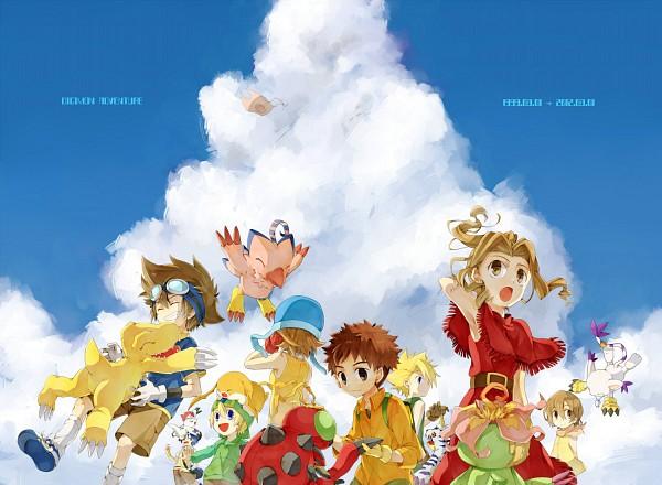 Tags: Anime, Kona081, Digimon Adventure, Takenouchi Sora, Yagami Hikari, Izumi Koushirou, Yagami Taichi, Kido Jyou, Takaishi Takeru, Gabumon, Ishida Yamato, Gomamon, Patamon