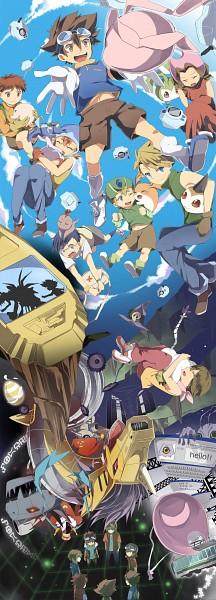 Tags: Anime, Natsuki Aisae, Digimon Tamers, Digimon Adventure, Digimon Savers, Digimon Frontier, Digimon Xros Wars, Kudou Taiki, Pukamon, Mochimon, Patamon, Tanemon, Daimon Masaru