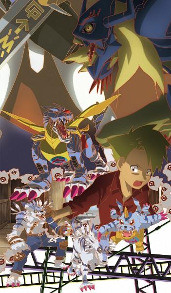 Digimon Adventure Mobile Wallpaper #1416207 - Zerochan ...