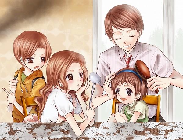 Hentai mother daughter