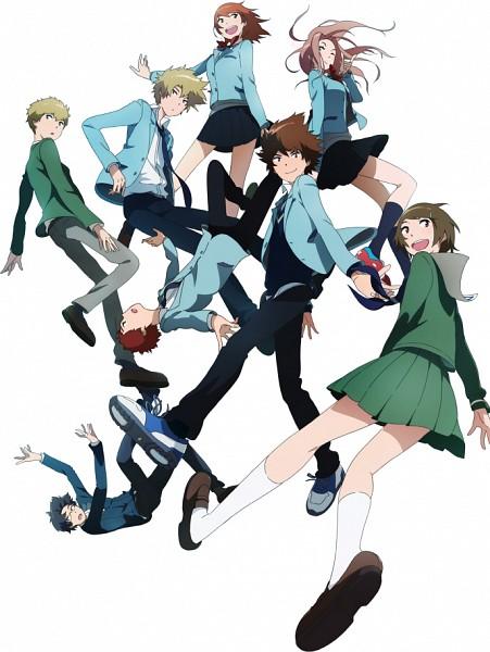Tags: Anime, Uki Atsuya, Toei Animation, Digimon Adventure, Yagami Hikari, Izumi Koushirou, Takaishi Takeru, Yagami Taichi, Takenouchi Sora, Ishida Yamato, Tachikawa Mimi, Kido Jyou, Official Art