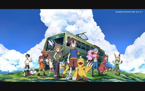 Tags: Anime, Tenkomori, Hajime (Hajime-ill-1st), Digimon Adventure, Agumon, Piyomon, Palmon, Patamon, Takenouchi Sora, Tentomon, Gatomon, Kido Jyou, Yagami Hikari