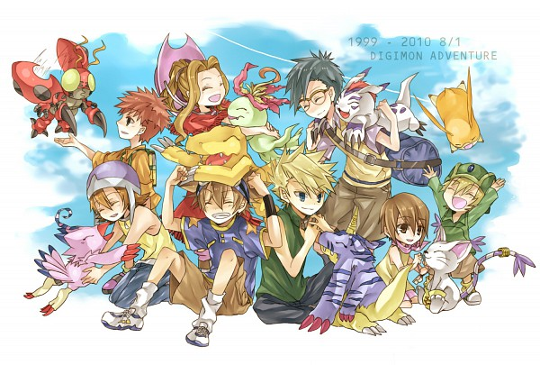 Tags: Anime, Kona081, Digimon Adventure, Palmon, Tachikawa Mimi, Yagami Hikari, Tentomon, Yagami Taichi, Takenouchi Sora, Takaishi Takeru, Izumi Koushirou, Ishida Yamato, Kido Jyou