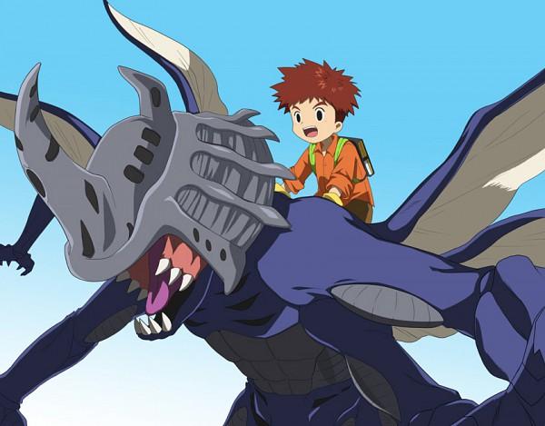 Tags: Anime, Koga (Pasuka), Digimon Adventure, Izumi Koushirou, Kabuterimon