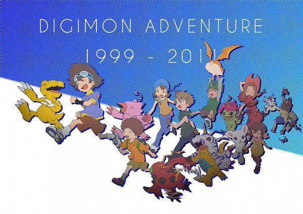 Tags: Anime, Pixiv Id 63762, Digimon Adventure, Tentomon, Takenouchi Sora, Yagami Hikari, Izumi Koushirou, Yagami Taichi, Kido Jyou, Takaishi Takeru, Gabumon, Ishida Yamato, Gomamon