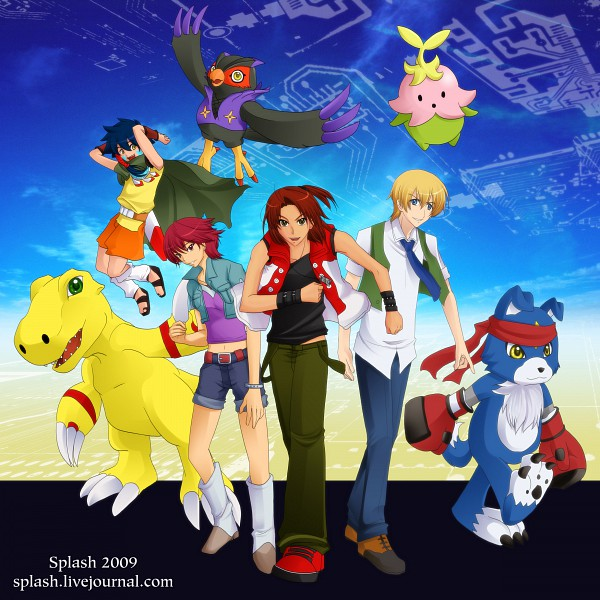 Tags: Anime, Splashgottaito, Digimon Savers