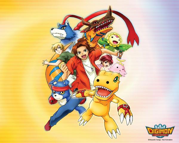 Tags: Anime, Digimon Savers, Thomas H. Norstein, Gaogamon, Gaomon, Sunflowmon, Daimon Masaru, GeoGreymon, Agumon, Lalamon, Fujieda Yoshino, Dinosaur