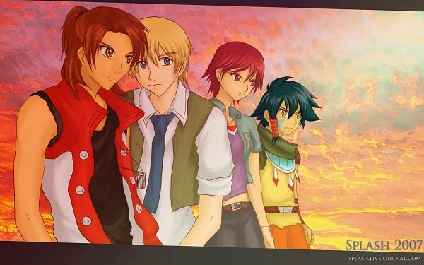 Tags: Anime, Digimon Savers, Fujieda Yoshino, Thomas H. Norstein, Noguchi Ikuto, Daimon Masaru, Wallpaper