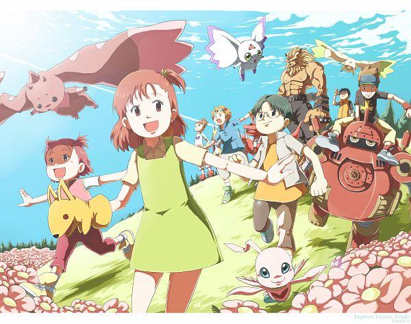 Tags: Anime, Sakura Ai, Digimon Tamers, Guilmon, MarinAngemon, Kitagawa Kenta, Renamon, Li Jianliang, Guardromon, Makino Ruki, Leomon, Lopmon, Hirokazu Shiota