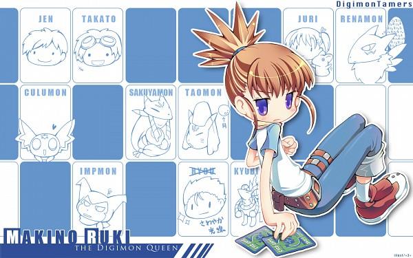 Tags: Anime, =3=, Digimon Tamers, Impmon, Renamon, Taomon, Culumon, Makino Ruki, Kyuubimon, Akiyama Ryou, Sakuyamon, Katou Juri, Matsuda Takato