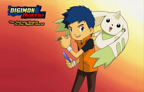 Tags: Anime, Toei Animation, Digimon Tamers, Li Jianliang, Terriermon, Official Art