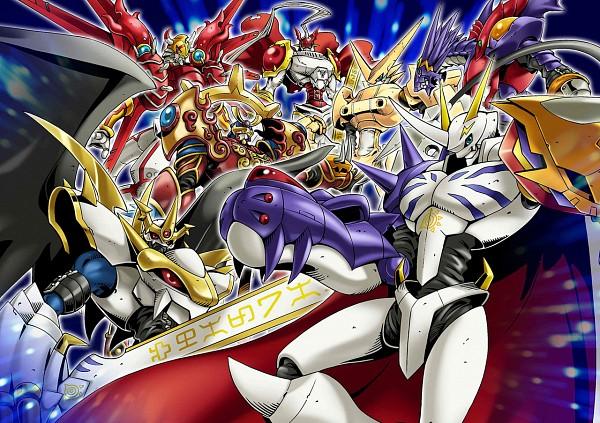 Tags: Anime, Digimon Adventure, Digimon Xros Wars, Imperialdramon, ShineGreymon, OmniShoutmon, Omegamon, Gallantmon, Susanomon, Digimon Fusion