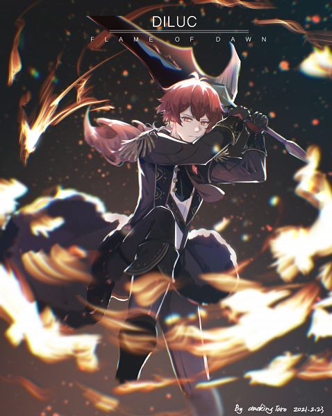 Tags: Anime, Pixiv Id 14941040, Genshin Impact, Diluc