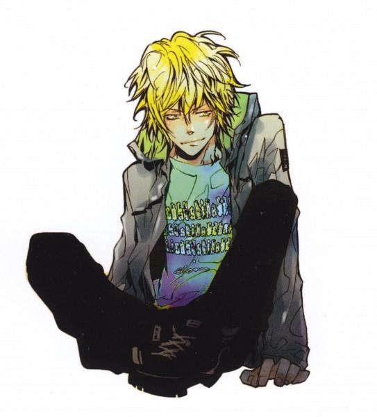 Tags: Anime, Amano Akira, Katekyo Hitman REBORN!, Dino Cavallone, Jackat, Scan, Official Art, Manga Cover