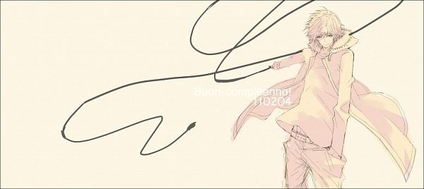 Tags: Anime, Katekyo Hitman REBORN!, Dino Cavallone, Facebook Cover