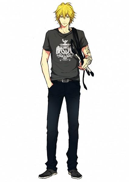 Tags: Anime, Raibura, Katekyo Hitman REBORN!, Dino Cavallone, Mobile Wallpaper