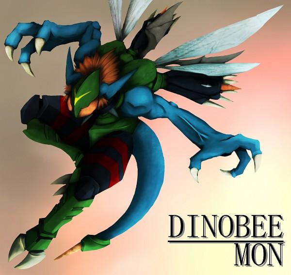 Tags: Anime, Pixiv Id 642771, Digimon Adventure, Dinobeemon