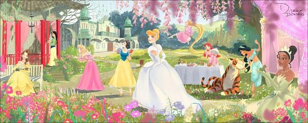 Tags: Anime, Gori Matsu, Beauty and the Beast, Snow White and the Seven Dwarfs, Sleeping Beauty, Frog Prince, Rapunzel, Aladdin, Cinderella, Little Mermaid, Mulan, The Princess and the Frog, Sleeping Beauty (Disney)