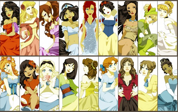 Tags: Anime, Darci Robbins, Tarzan, Frog Prince, Alice in Wonderland, Sleeping Beauty, Peter Pan, Lilo & Stitch, Aladdin, The Hunchback of Notre Dame, Enchanted, Little Mermaid, Cinderella