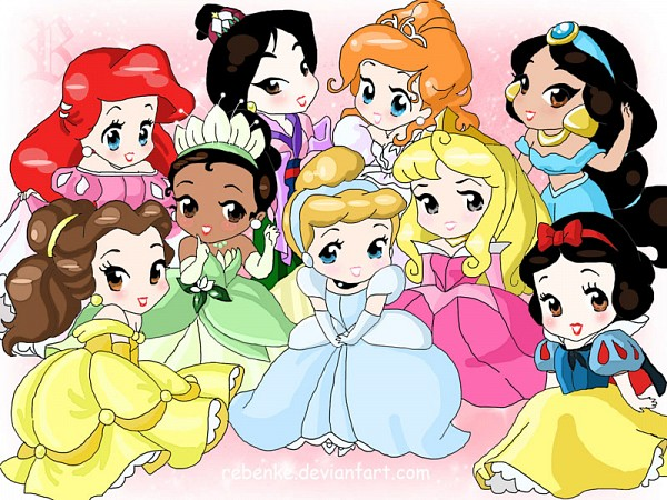 Tags: Anime, Little Mermaid, Snow White and the Seven Dwarfs, Beauty and the Beast, Frog Prince, Enchanted, Aladdin, Sleeping Beauty, Cinderella, The Princess and the Frog, Mulan, Little Mermaid (Disney), Snow White and the Seven Dwarfs (Disney)