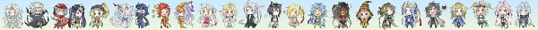 Tags: Anime, Shinzui, Final Fantasy IX, Final Fantasy V, Final Fantasy VIII, Final Fantasy X, Final Fantasy IV, Final Fantasy VII, Dissidia, Gunblade (personification), Deathbringer (personification), Blood Sword (personification), Fraternity (Personification)