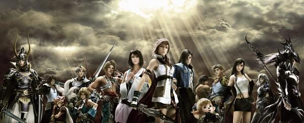Tags: Anime, SQUARE ENIX, Final Fantasy II, Final Fantasy IX, Final Fantasy XIII, Final Fantasy I, Final Fantasy VIII, Final Fantasy V, Final Fantasy III, Final Fantasy X, Final Fantasy IV, Final Fantasy XII, Final Fantasy XI