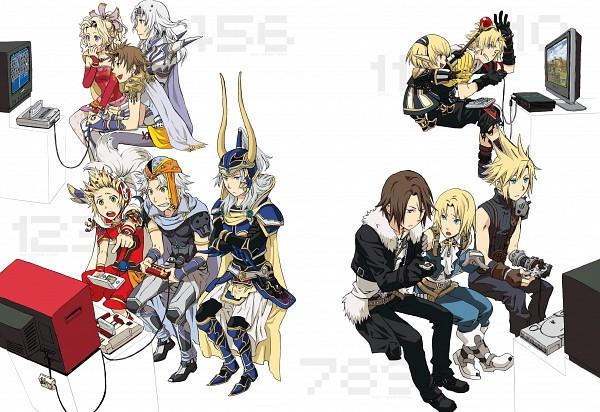 Tags: Anime, Final Fantasy III, Dissidia, Final Fantasy XI, Final Fantasy II, Final Fantasy IX, Final Fantasy X, Final Fantasy I, Final Fantasy VIII, Final Fantasy VII, Final Fantasy IV, Final Fantasy V, Final Fantasy VI