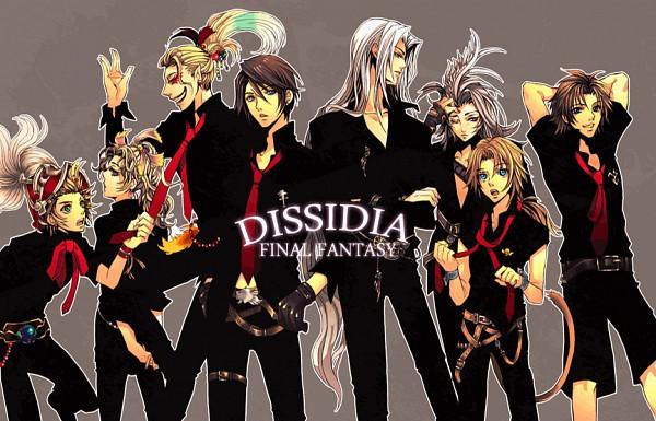 Tags: Anime, Squaresoft, SQUARE ENIX, Final Fantasy III, Final Fantasy IX, Final Fantasy VIII, Final Fantasy X, Final Fantasy VII, Final Fantasy VI, Dissidia, Cefca Palazzo, Tidus, Zidane Tribal