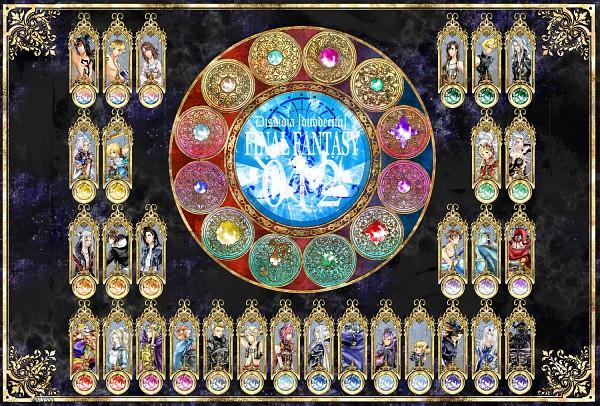 Tags: Anime, Final Fantasy VIII, Final Fantasy XI, Final Fantasy I, Final Fantasy XIII, Final Fantasy IV, Final Fantasy VI, Final Fantasy XII, Final Fantasy X, Dissidia, Final Fantasy V, Final Fantasy VII, Final Fantasy IX