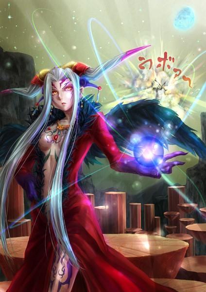 Tags: Anime, Dissidia, Ultimecia, Emperor Mateus, Explosion, Tumblr, Translation Request