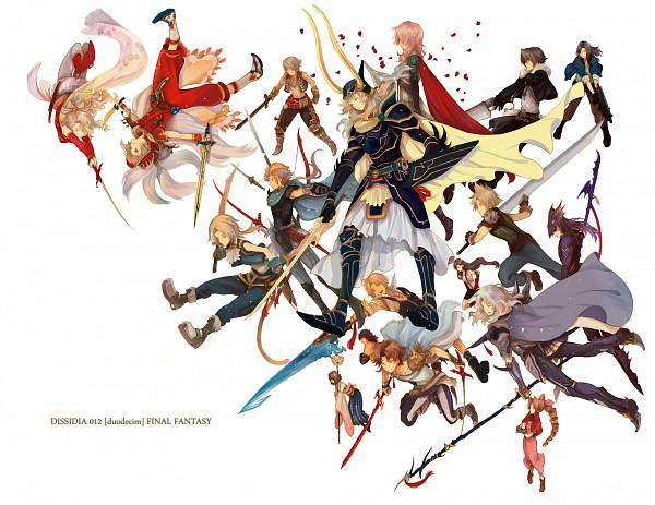 Tags: Anime, Okazaki Oka, Dissidia, Onion Knight, Lightning Farron, Vaan, Kain Highwind, Squall Leonhart, Warrior of Light, Jecht, Tina Branford, Cloud Strife, Firion