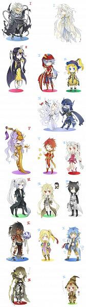 Tags: Anime, Shinzui, Final Fantasy VIII, Final Fantasy X, Final Fantasy VII, Final Fantasy IV, Dissidia, Final Fantasy V, Tidus, Jecht, Exdeath, Blood Sword (personification), Firion
