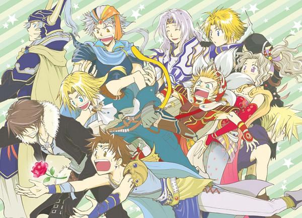 Tags: Anime, Beshiexe, Dissidia, Onion Knight, Warrior of Light, Squall Leonhart, Firion, Cloud Strife, Tina Branford, Butz Klauser, Tidus, Cecil Harvey, Zidane Tribal