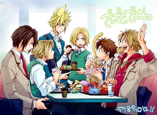 Tags: Anime, Nonoyama Saki, Final Fantasy IX, Final Fantasy V, Final Fantasy VIII, Final Fantasy X, Final Fantasy VII, Final Fantasy XII, Dissidia, Cloud Strife, Butz Klauser, Tidus, Vaan