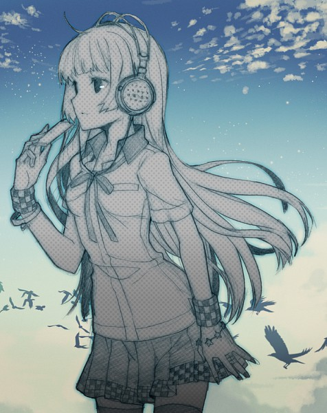 Tags: Anime, H2SO4, Dj Max, Pixiv, Sketch